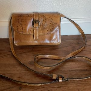 Patrica Nash Italian Leather Crossbody bag